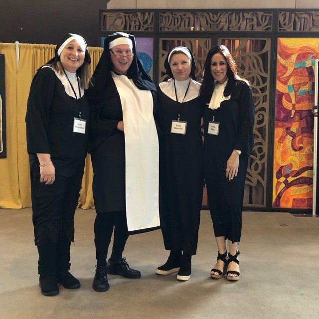 Sister Love - a couple of visiting nuns from the Bet class