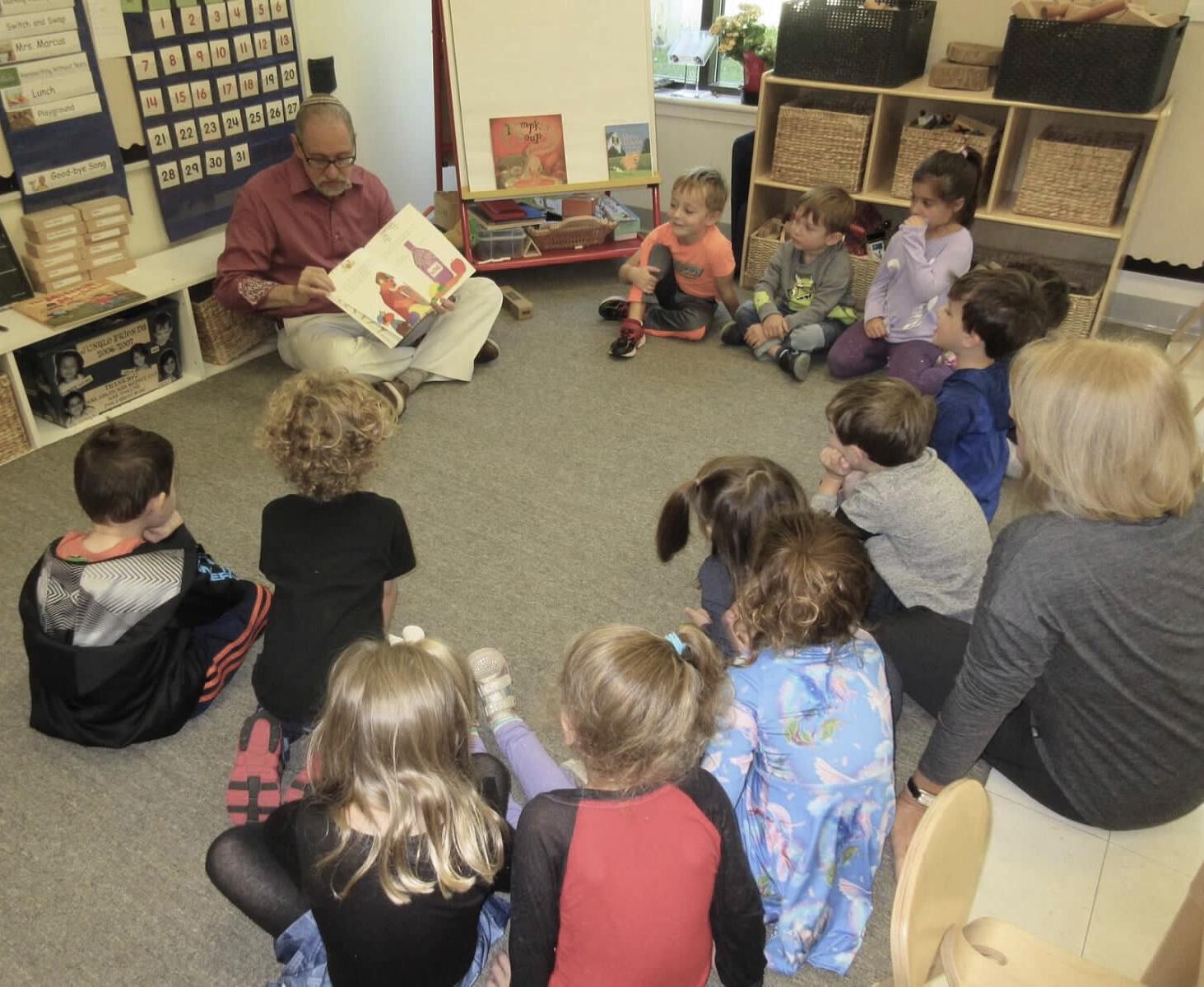 rabbi Pokras reads