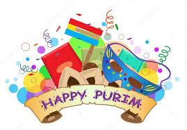 Happy Purim Graphic