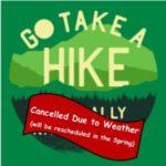 shabbat hike - cancellation