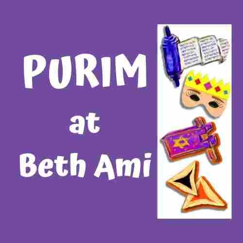 Purim PaloozaSun, March 8 (10:30 am – 1:30 pm)