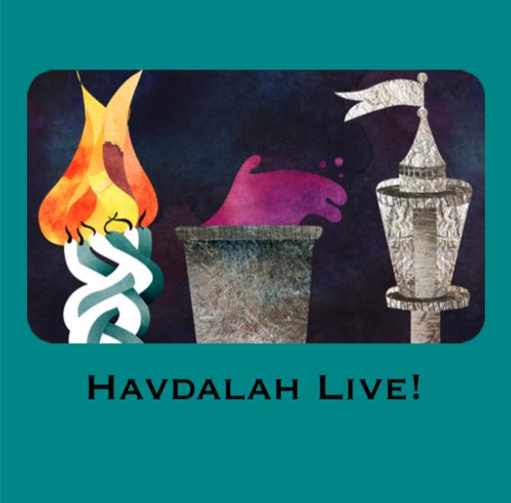 Havdalah Live!<br/>Sat. Aug 15 (7:00 pm)