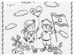 Yom Ha'atzmaut Coloring Page jpg