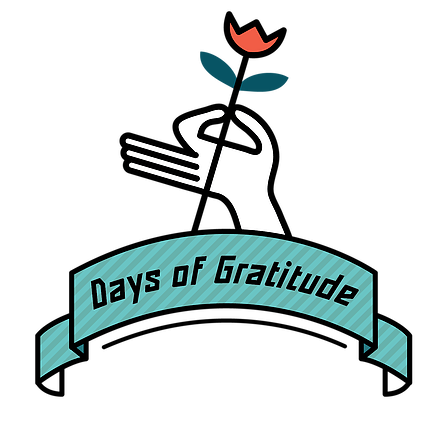 10 Days of Gratitude  - Click the logo above to sign up for your daily dose of gratitude starting May 22nd