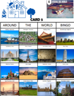 Around the World Bingo