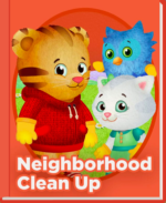 Daniel Tiger Neighborhood Clean-up