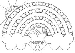 Week 4 Rainbow Coloring Page