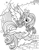 Week 4 Unicorn Coloring page_Page_06