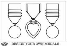 Week 8 Medals Coloring page 3
