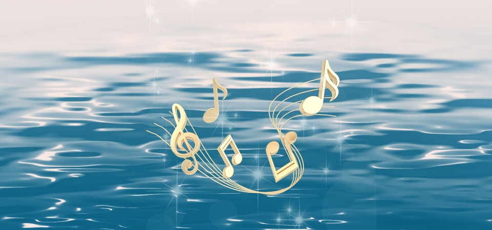 pngtree-blue-lake-water-musical-notes-poster-background-image_128197