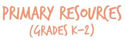 Primary resources header