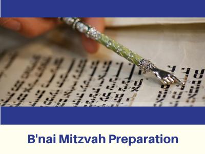 Bnai Mitzvah Preparation