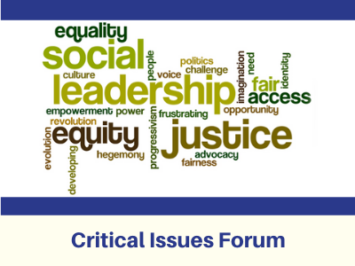 Critical Issues Forum