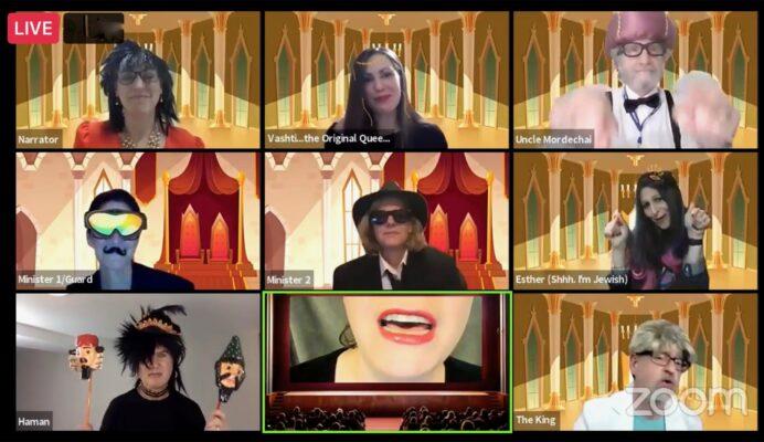 Virtual Purim 2021