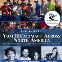 Yom Ha'atzmaut Across North America<br/>Sun., April 18 (5 pm)